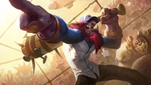 Lil Slugger Trundle - Splash Art
