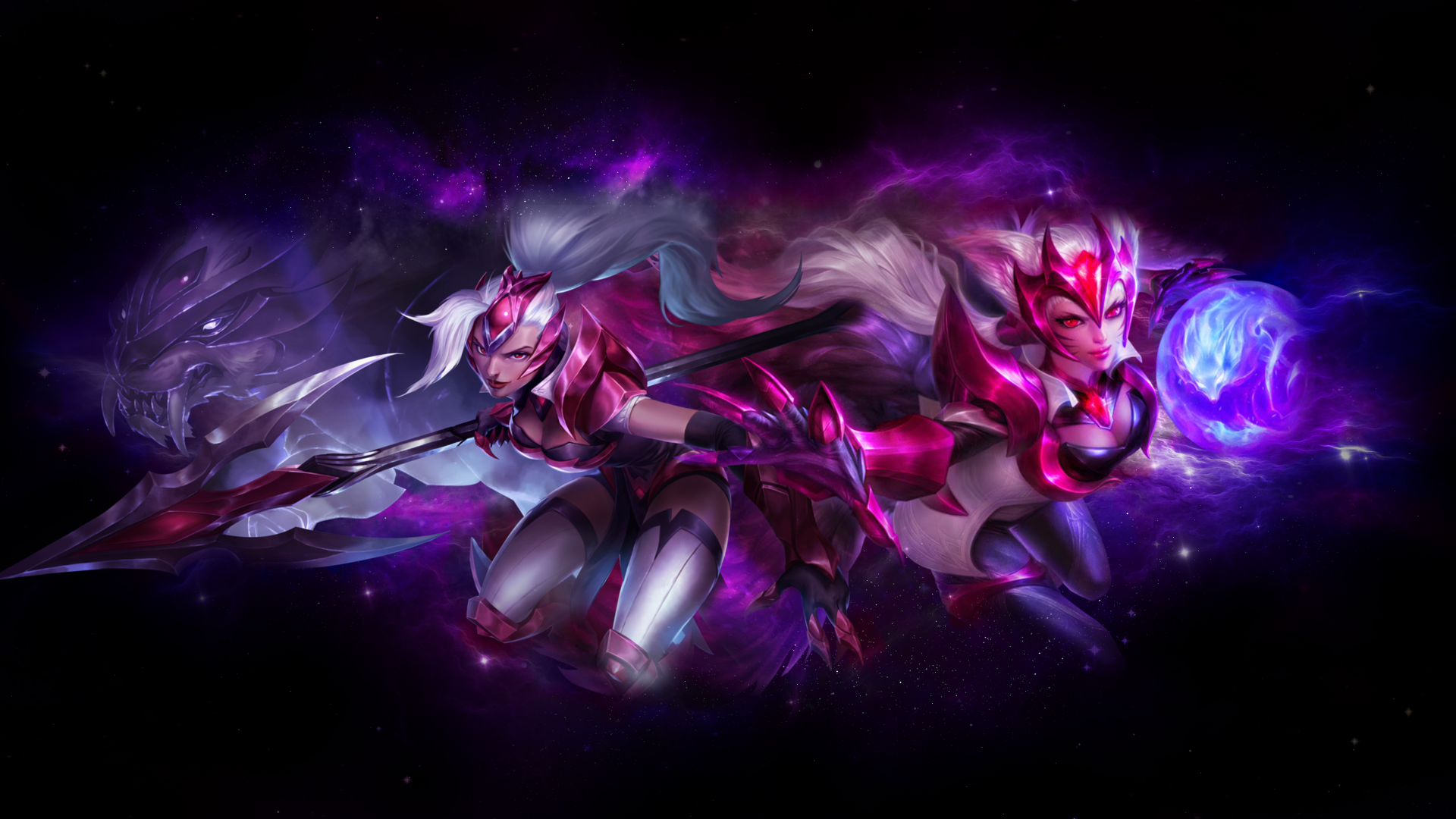 Challenger Nidalee Ahri League Of Legends Wallpapers